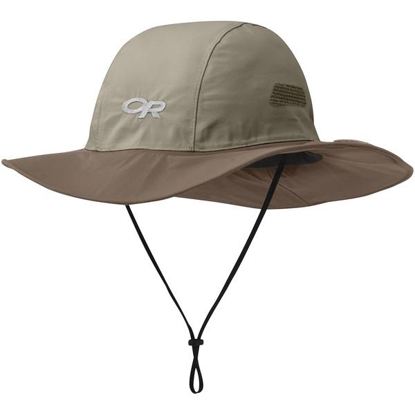 アウトドアリサーチ メンズ 帽子 アクセサリー Seattle Sombrero Khaki/Java