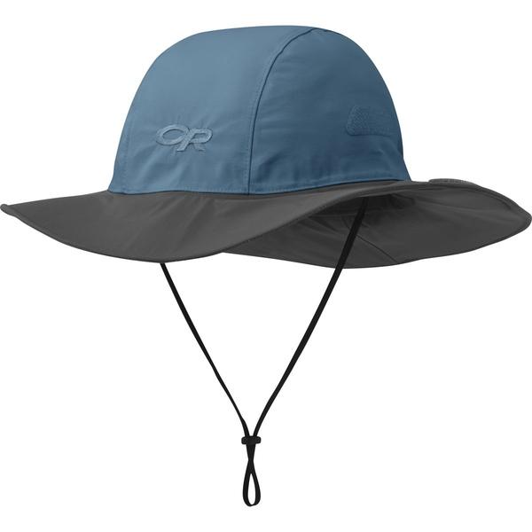 アウトドアリサーチ メンズ 帽子 アクセサリー Seattle Sombrero Peacock/Dark Grey