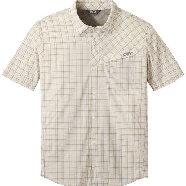 アウトドアリサーチ メンズ シャツ トップス Astroman Shirt - Short-Sleeve - Men's Sand