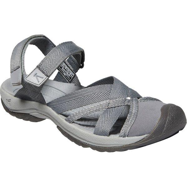 キーン レディース サンダル シューズ Kira Ankle Strap Sandal - Women's Steel Grey