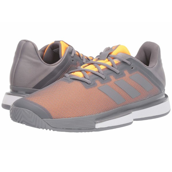 アディダス メンズ スニーカー シューズ SoleMatch Bounce Grey Three F17/Grey Three F17/Flash Orange