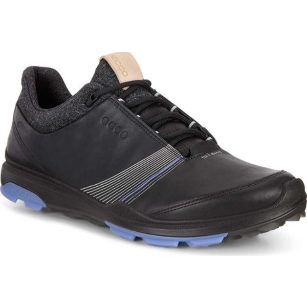 エコー レディース スニーカー シューズ BIOM Hybrid 3 Tie GORE-TEX Golf Shoe Black Yak Leather