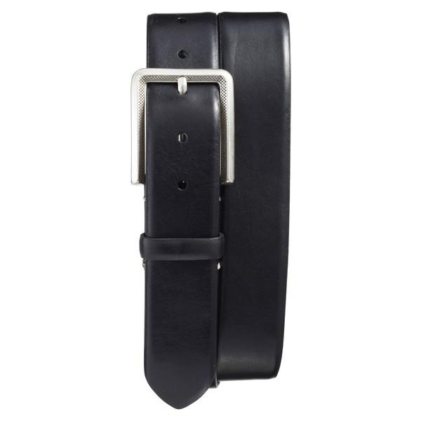 【当日出荷】メズラン ベルト メンズ Mezlan Vaqueta Leather Belt Black 【サイズ 36】
