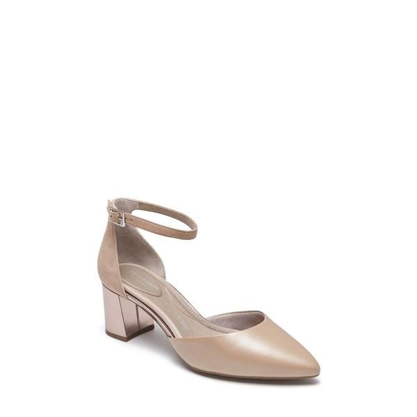 【当日出荷】 ロックポート レディース パンプス Rockport Total Motion Salima Luxe Pump (Women) Dove Leather 【サイズ 23.5cm】