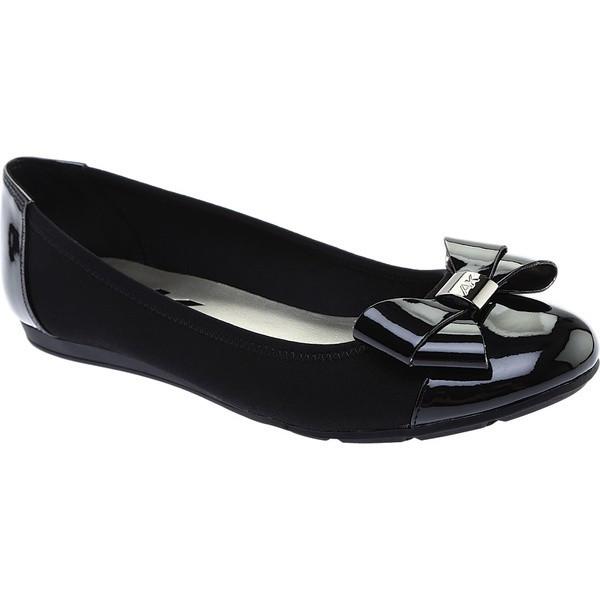 【当日出荷】 アンクライン レディース サンダル Alphia Ballet Flat Black Multi Fabric 【サイズ 6M】