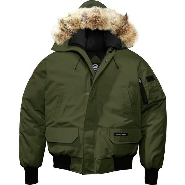 【当日出荷】 カナダグース メンズ ジャケット&ブルゾン Chilliwack Bomber Down Parka - Men's Military Green 【サイズ XL】