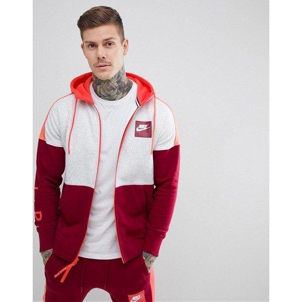 【当日出荷】 ナイキ メンズ パーカー・スウェットシャツ Nike Air Full Zip Hoodie In Red 886044-051 Red 【サイズ S】