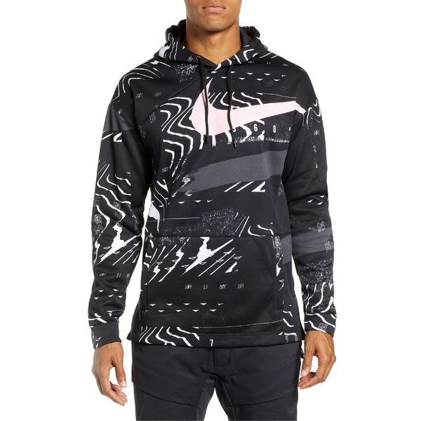 【当日出荷】 ナイキ メンズ パーカー・スウェットシャツ Nike 3 Therma-FIT Hoodie Black/ White/ Pink Foam 【サイズ XXL】