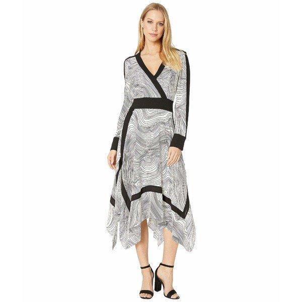 【当日出荷】 ビーシービージーマックスアズリア レディース ワンピース Faux Wrap Handkerchief Dress 【サイズ MD_(US_6-8)】