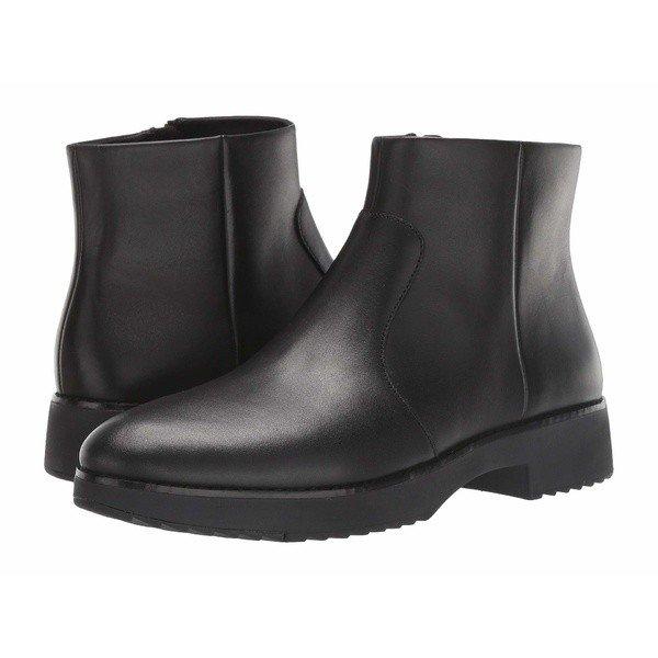 【当日出荷】 フィットフロップ レディース ブーツ&レインブーツ Maria Ankle Boot All Black 【サイズ 22.5】