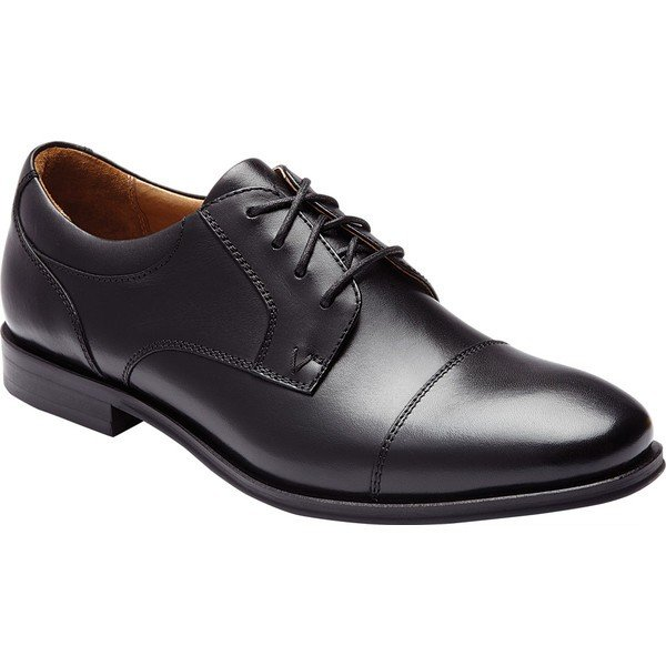 【当日出荷】 バイオニック メンズ ドレスシューズ Shane Oxford Black Leather 【サイズ 26.5cm】
