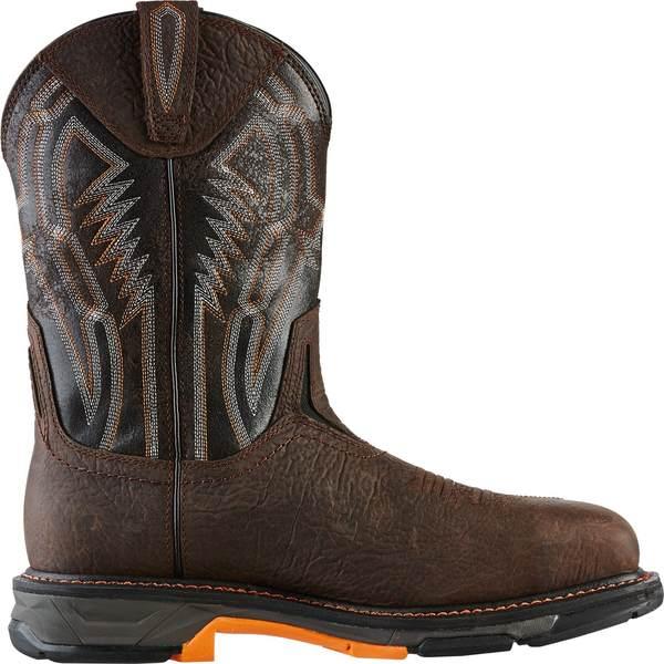 Ariat メンズ シューズ ブーツ レインブーツ Brown 卸売り Black 全商品無料サイズ交換 XT 安値 Boots Men's Work WorkHog アリアト Dare