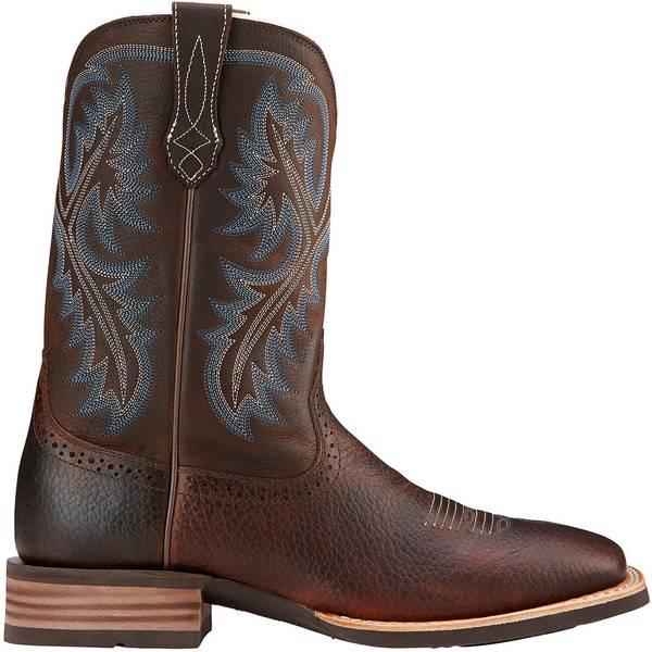 Ariat メンズ シューズ ブーツ レインブーツ Brown Oil Men's Western Rowdy バースデー 記念日 ギフト 贈物 お勧め 通販 Boots アリアト 全商品無料サイズ交換 Quickdraw ギフ_包装