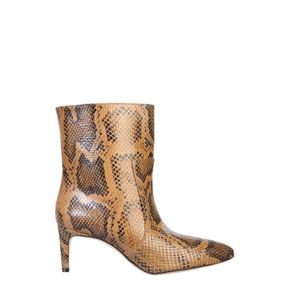 人気 パリテキサス レディース ブーツ&レインブーツ シューズ Paris Texas Embossed Stiletto Ankle Boots -, EDOYA f67317d5