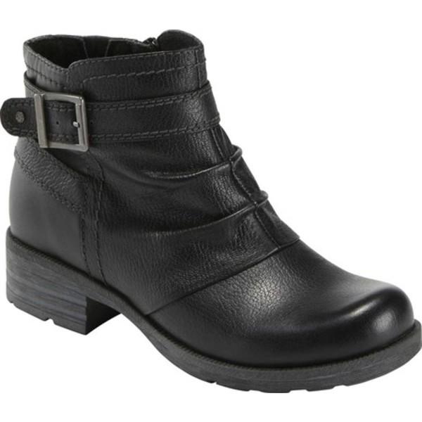 アースオリジン レディース ブーツ&レインブーツ シューズ Randi Robby Slouch Ankle Bootie Black Britannia Leather