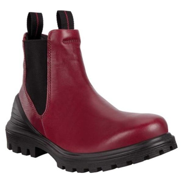 エコー Chelsea レディース Leather シューズ Tredtray Syrah Boot ブーツ&レインブーツ Cow