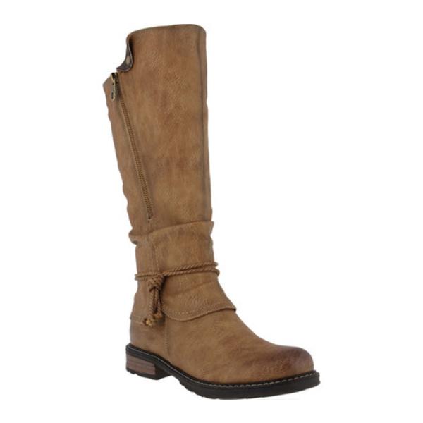 パトリシア レディース ブーツ&レインブーツ シューズ Museropett Mid Calf Boot Light Brown Synthetic