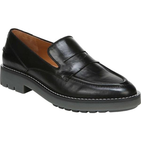 サルトバイフランコサルト レディース サンダル シューズ Tivoli Loafer Black Foulard Leather