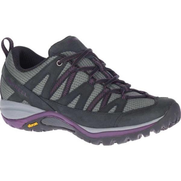 メレル レディース ブーツ&レインブーツ シューズ Siren Sport 3 Trail Shoe Black/Blackberry Mesh/Leather