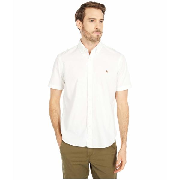 ラルフローレン メンズ シャツ トップス Classic Fit Chambray Shirt White