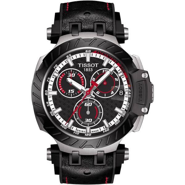 <title>ティソット レディース アクセサリー 腕時計 Black 全商品無料サイズ交換 Men's Swiss Chronograph T-Race MotoGP 2020 割引 Rubber Strap Watch 48mm - Limited Edition</title>