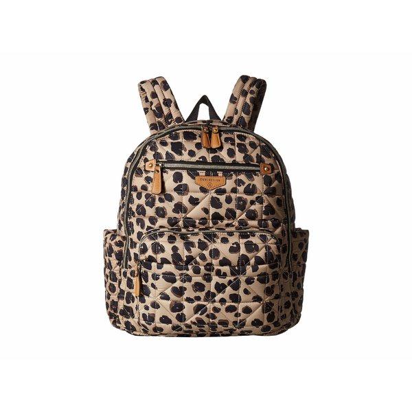 トゥエルブリトル レディース マザーズバッグ バッグ Companion Backpack Leopard Print