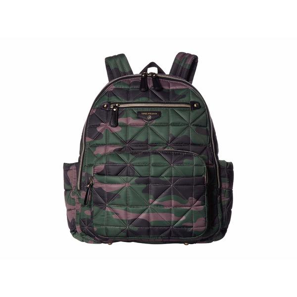 トゥエルブリトル レディース マザーズバッグ バッグ Companion Backpack Camo Print