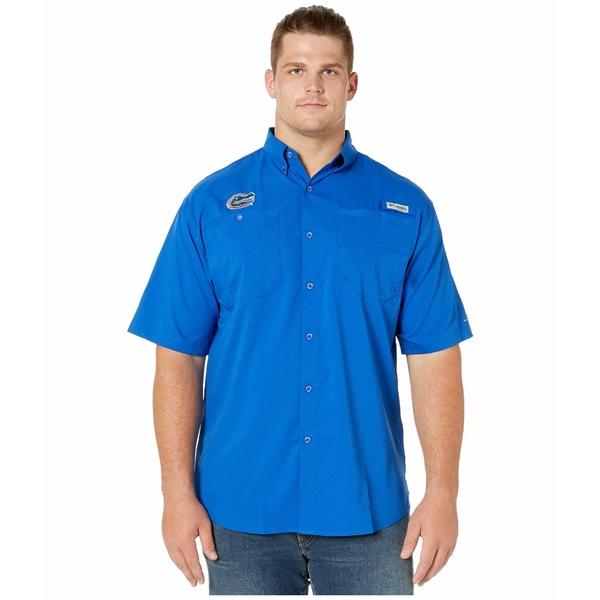 コロンビアカレッジ メンズ シャツ トップス Big & Tall Florida Gators Collegiate Tamiami II Short Sleeve Shirt Azul