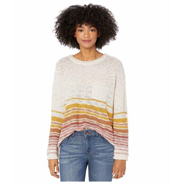 リップカール レディース ニット&セーター アウター Island Sands Sweater Vanilla