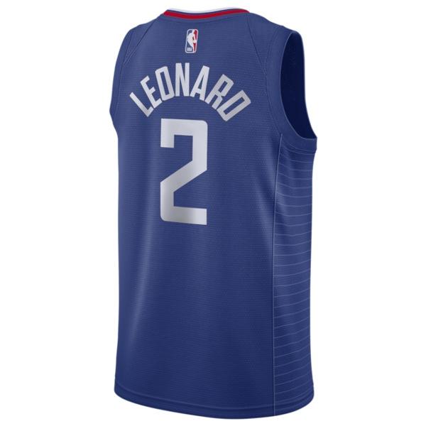 ナイキ メンズ フィットネス スポーツ NBA Swingman Jersey NBA | Los Angeles Clippers | Kawhi Leonard | Rush Blue | Away