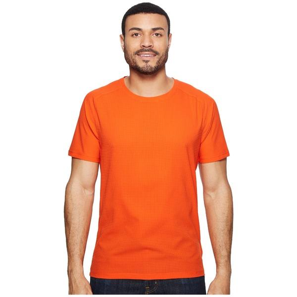 マウンテンハードウェア メンズ シャツ トップス MHW AC Short Sleeve Tee State Orange