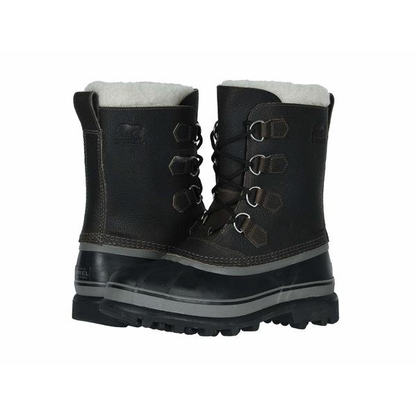 ソレル メンズ ブーツ&レインブーツ シューズ Caribou Wool Quarry/Black