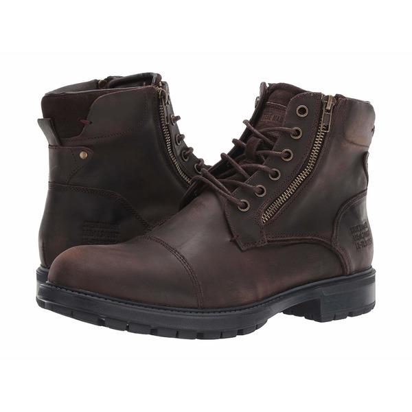 スティーブ マデン メンズ ブーツ&レインブーツ シューズ Self Made Ryker Brown Leather