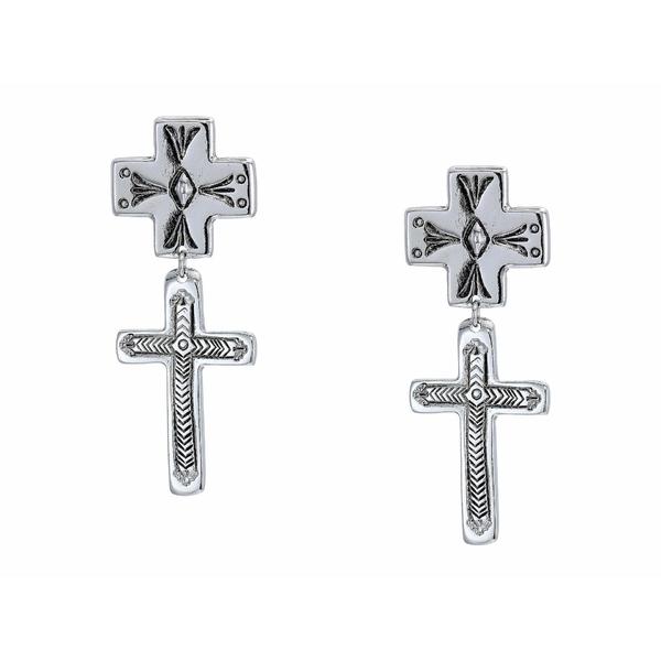 バネッサモーネイ レディース ピアス&イヤリング アクセサリー The Trisha Earrings Silver Plated