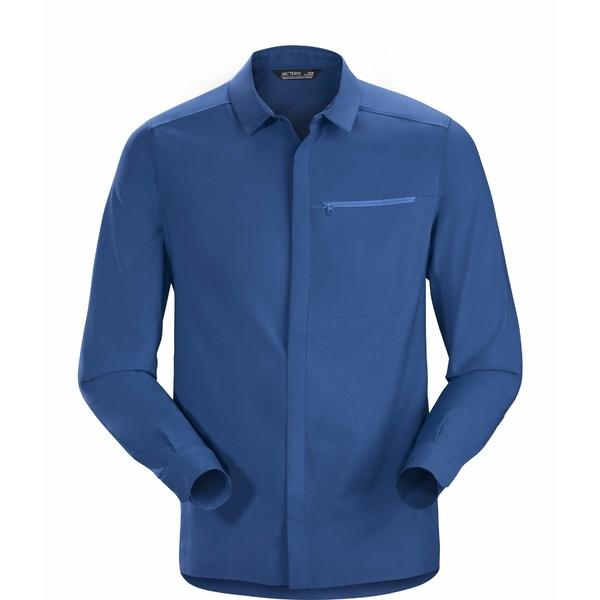 アークテリクス メンズ シャツ トップス Skyline Long Sleeve Shirt Cobalt Sun