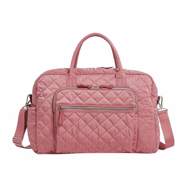ベラブラッドリー レディース ボストンバッグ バッグ Iconic Performance Twill Travel Bag Strawberry Ice