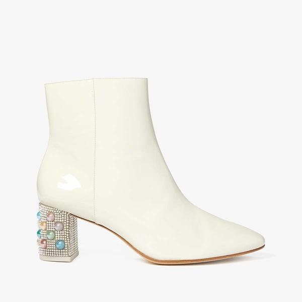 ソフィアウェブスター レディース ブーツ&レインブーツ シューズ Toni Mid Ankle Boot Winter White/Pearl