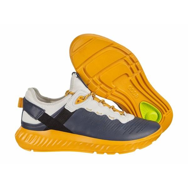 エコー メンズ スニーカー シューズ ST.1 Lite Sneaker Ombre/White