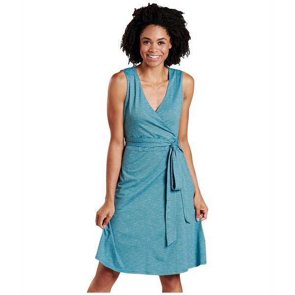 ドード アンドコー レディース ワンピース トップス Cue Wrap Sleeveless Dress Hydro