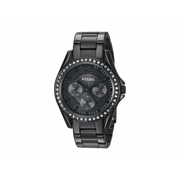 フォッシル レディース 腕時計 アクセサリー Riley Multi-function Watch ES4519 Black Stainless Steel
