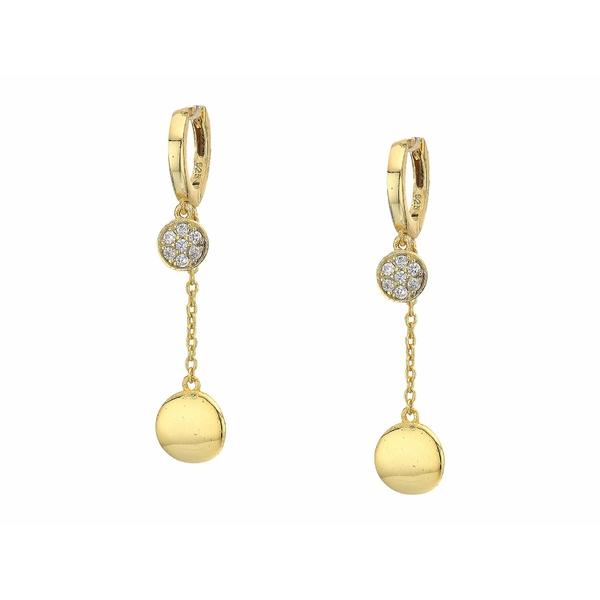 シャシ レディース ピアス&イヤリング アクセサリー Chiara Drop Earrings Gold