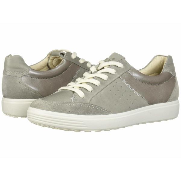 エコー レディース スニーカー シューズ Soft 7 Leisure Sneaker Wild Dove/Wild Dove/Wild Dove Suede/Cow Leather/Cow Leather