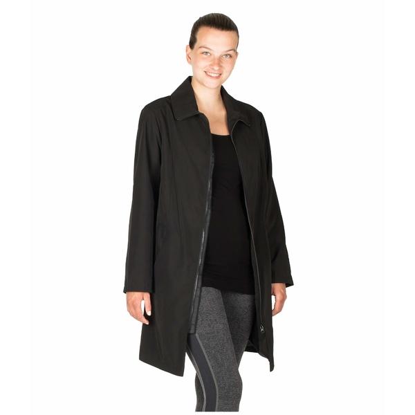 モダーンエターニティ レディース コート アウター Avelynne Maternity Trench Coat Black