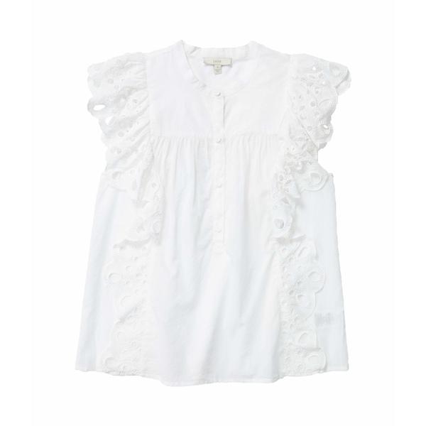 ジョア レディース シャツ トップス Coralia Clean White