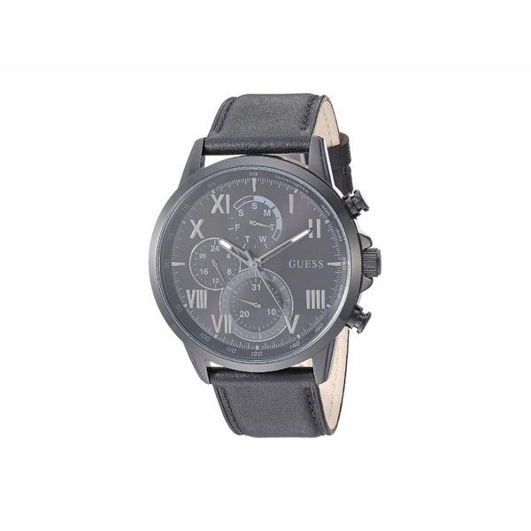 ゲス メンズ 腕時計 アクセサリー GW0011G2 Black/Gunmetal