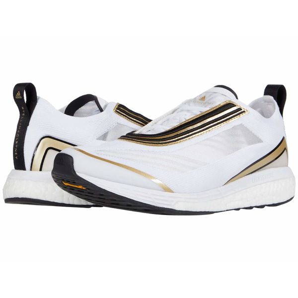 アディダス レディース スニーカー シューズ Boston S. Marathon Sneaker Footwear White/Gold Butter/Footwear White