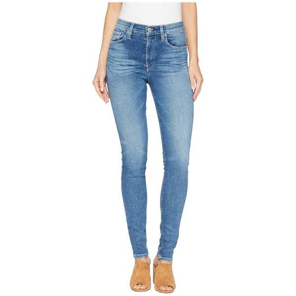ハドソンジーンズ レディース デニムパンツ ボトムス Barbara High-Waist Skinny Jeans in Ayon Ayon
