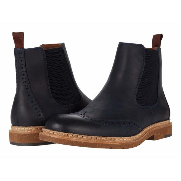 ジョンストンマーフィ メンズ ブーツ&レインブーツ シューズ Pearce Boot Navy