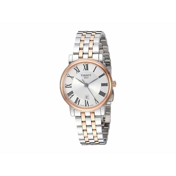 ティソット レディース 腕時計 アクセサリー Carson Premium Lady - T1222102203301 Two-Tone