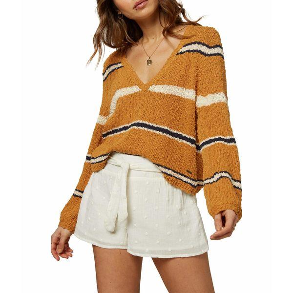 オニール レディース ニット&セーター アウター Shores Sweater Spruce Yellow